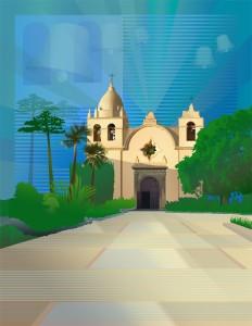 Mission-Carmel-Sunrise